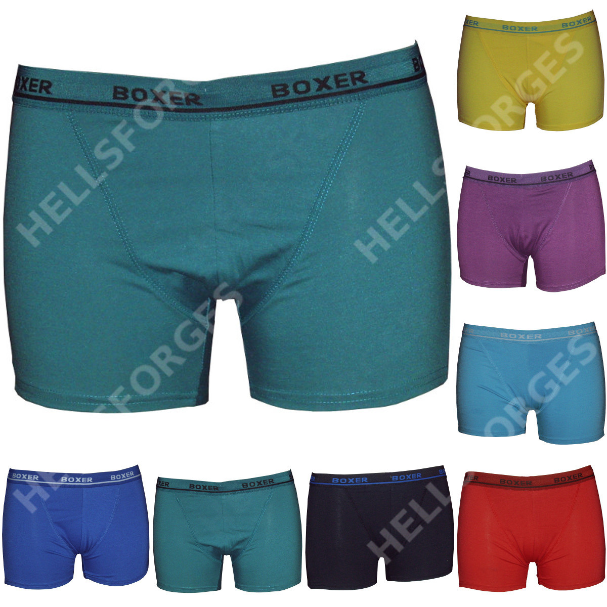 lot pack 3 boxer homme coton s m l xl xxl men short pas cher no ck v5 ebay. Black Bedroom Furniture Sets. Home Design Ideas