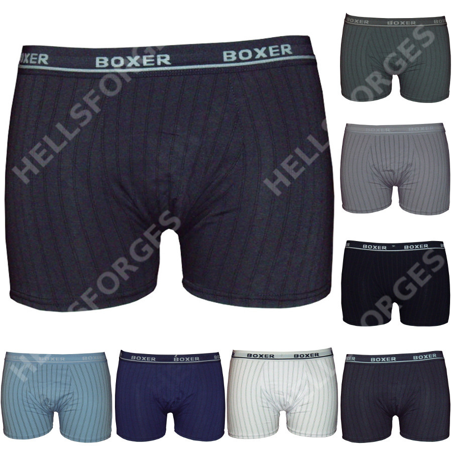 lot pack 3 boxer homme coton s m l xl xxl men short pas cher no ck v4 ebay. Black Bedroom Furniture Sets. Home Design Ideas